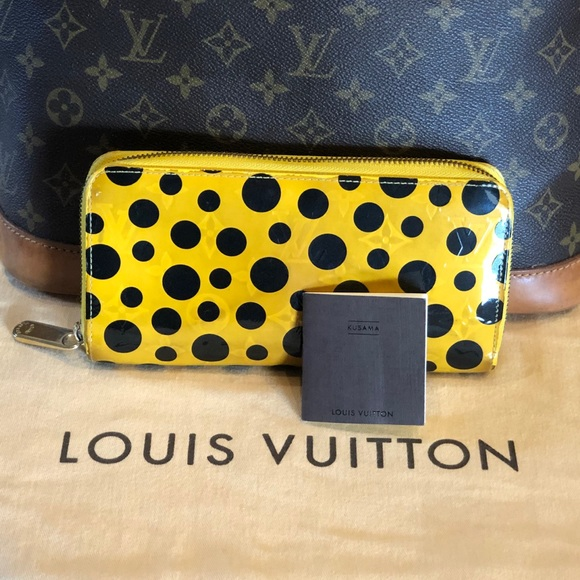 Louis Vuitton Handbags - 😍Louis Vuitton Yayoi Kusama Yellow Zippy wallet
